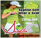 Classy golf gear for juniors; hit the links in style!