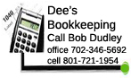 PREFERRED PRO:  Call Bob Dudley for your tax prep needs today!